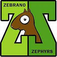 Zebrano Zephyrs team badge